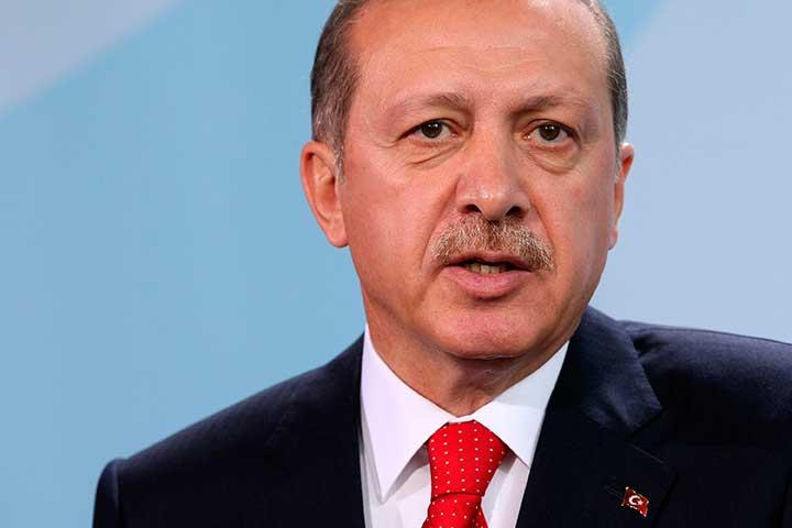 Recep Tayyip Erdogan © Getty Images