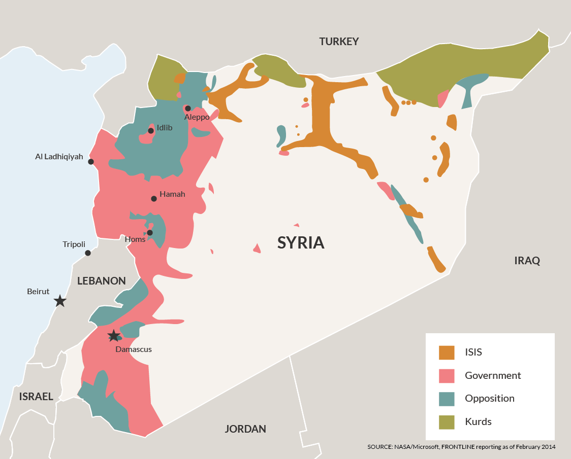 Maps to Help You Understand the Syrian War The American Interest