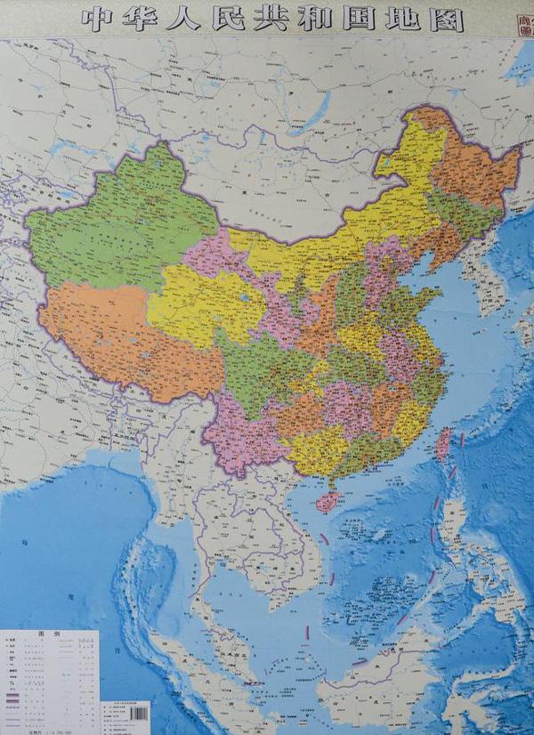 china-world-map