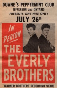 Everly Bros poster